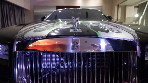 Rolls-Royce Wraith by Art J. Williams, Jr.