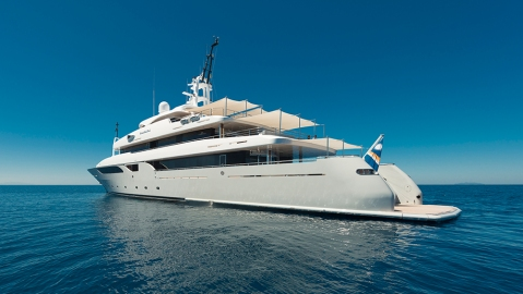 Rossinavi Rarity superyacht charter Y.CO