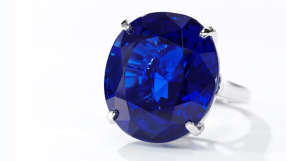 Cartier Burmese sapphire ring