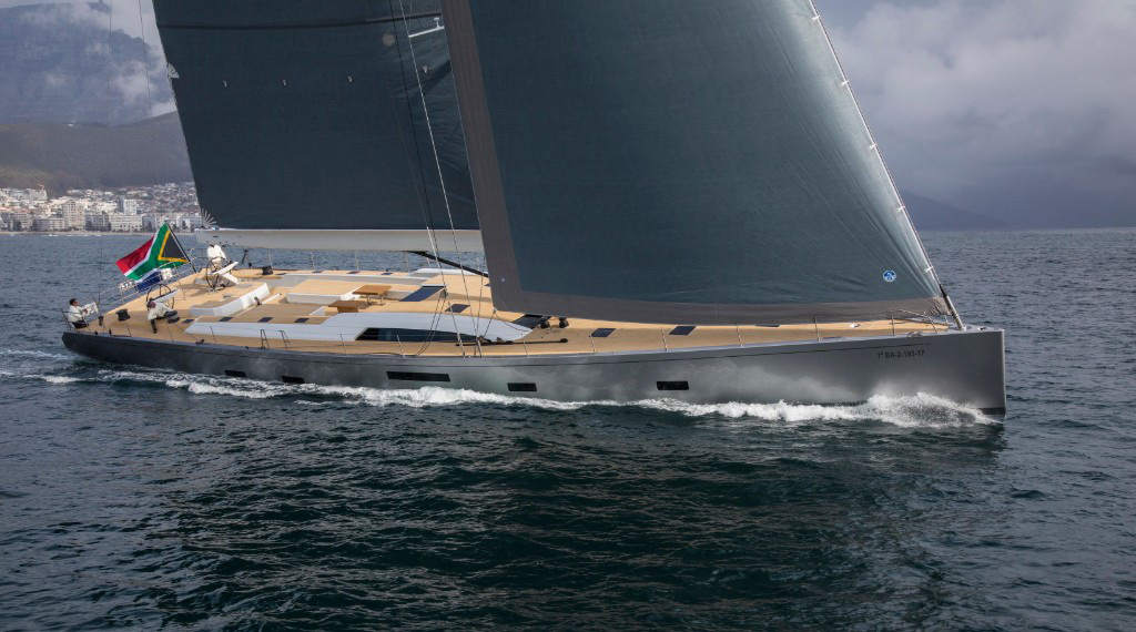 Southern Wind Kiboko Tres sailing yacht South Africa