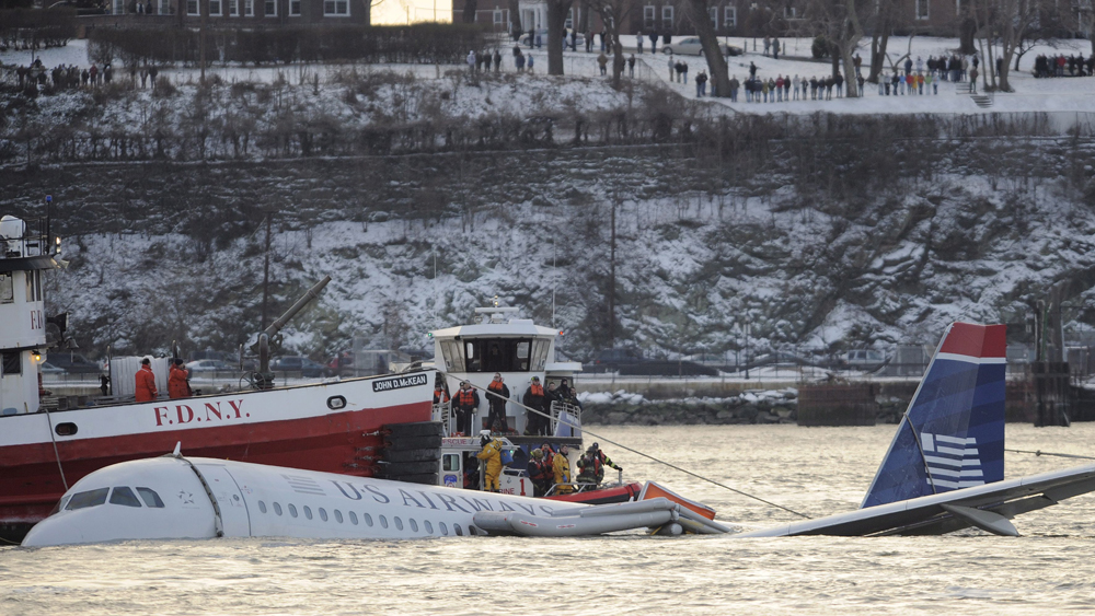 US Airways Airbus 320 miracle on the hudson