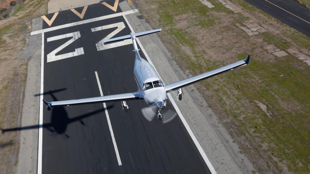 Surf Air Pilatus PC-12
