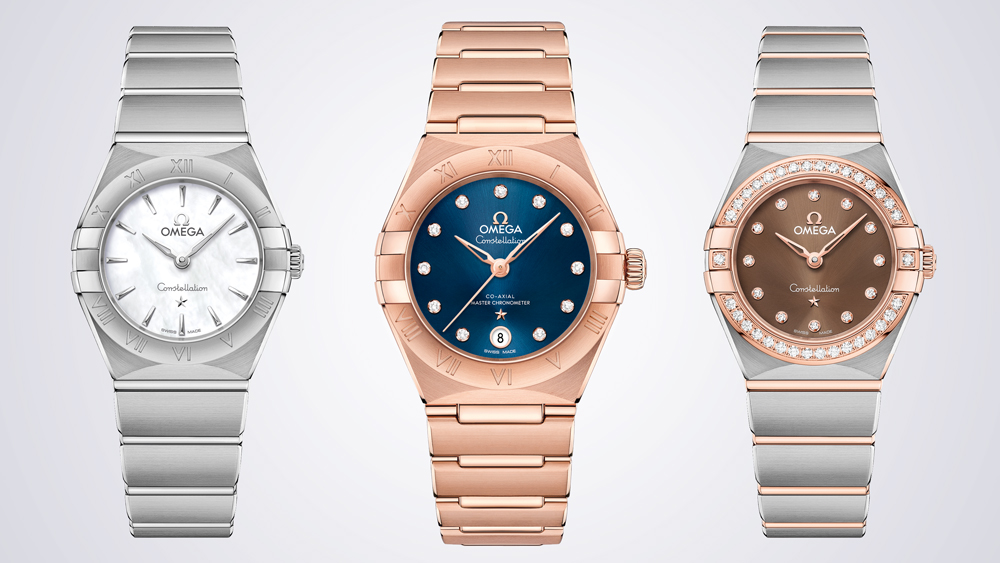 Omega Constellation Collection Shanghai