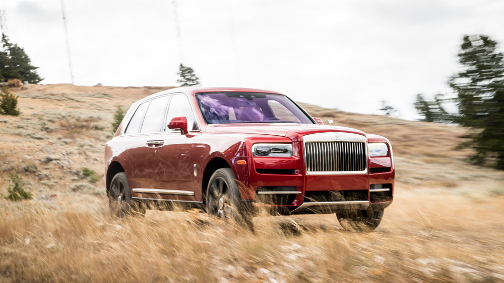 The Rolls-Royce Cullinan.