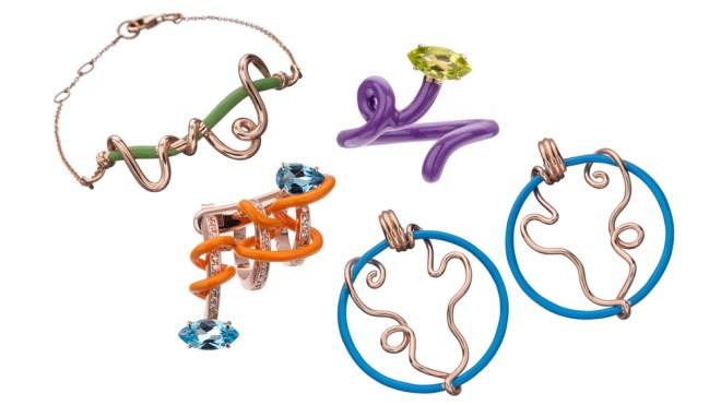 Vine jewelry Bea Bongiasca