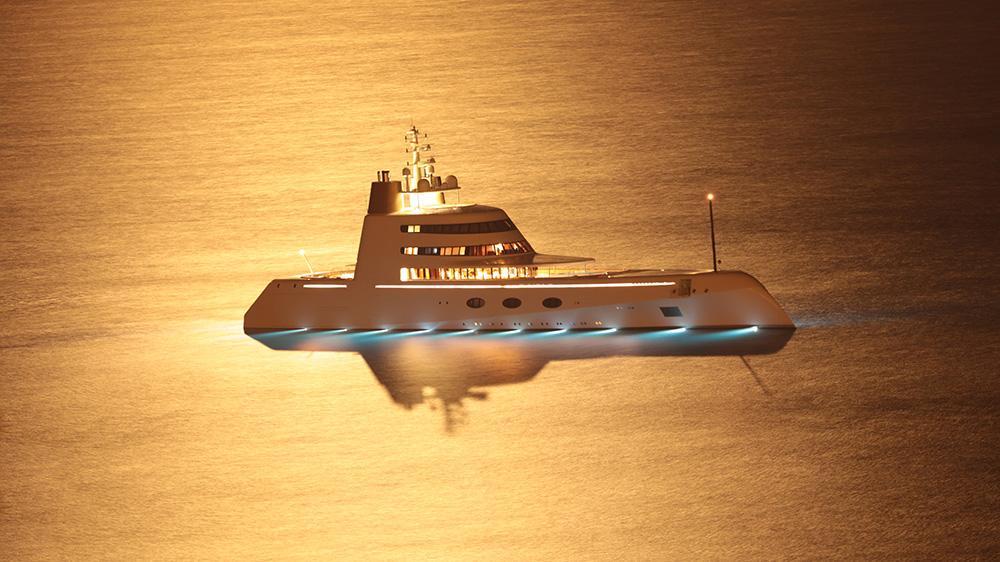 Blohm + Voss motor yacht A.
