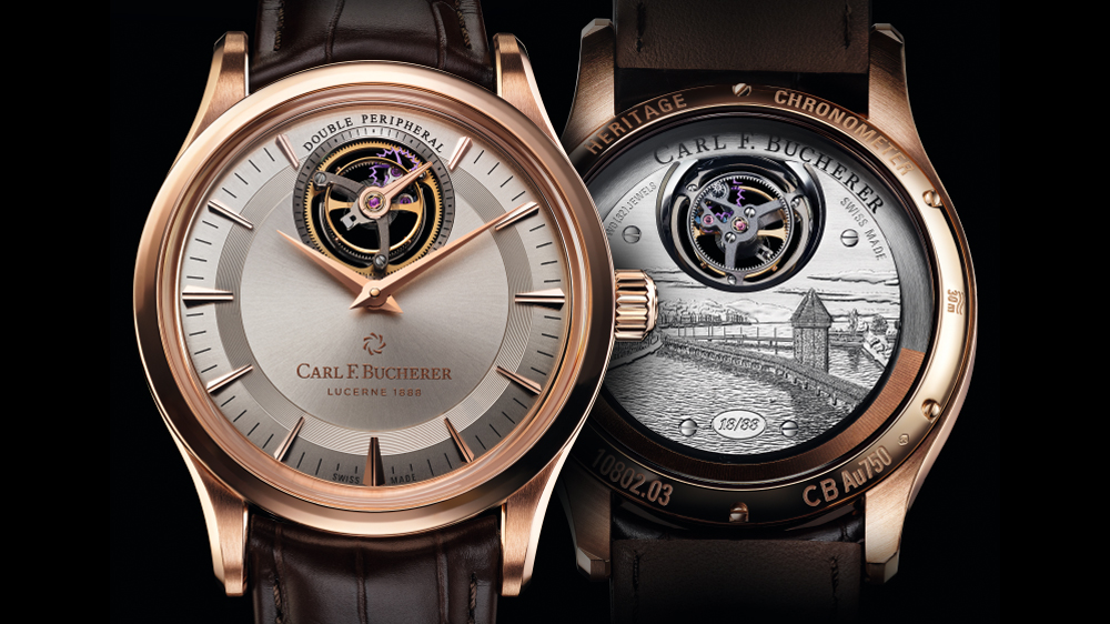Carl F. Bucherer Tourbillon Double Peripheral Limited Edition