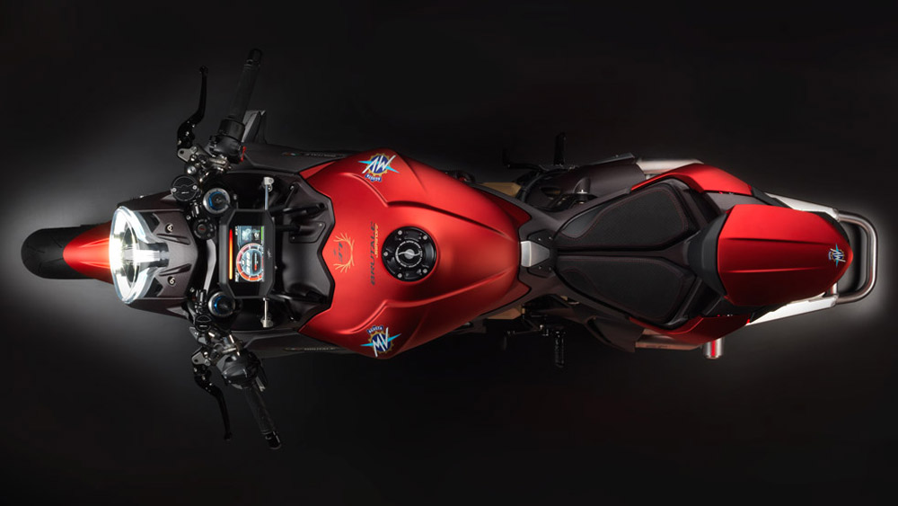 The MV Augusta Brutale 1000 Serie Oro motorcycle.