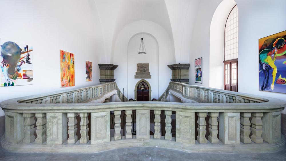 Hall Art Foundation installation