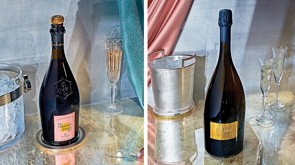 Veuve Clicquot and Rare champagnes