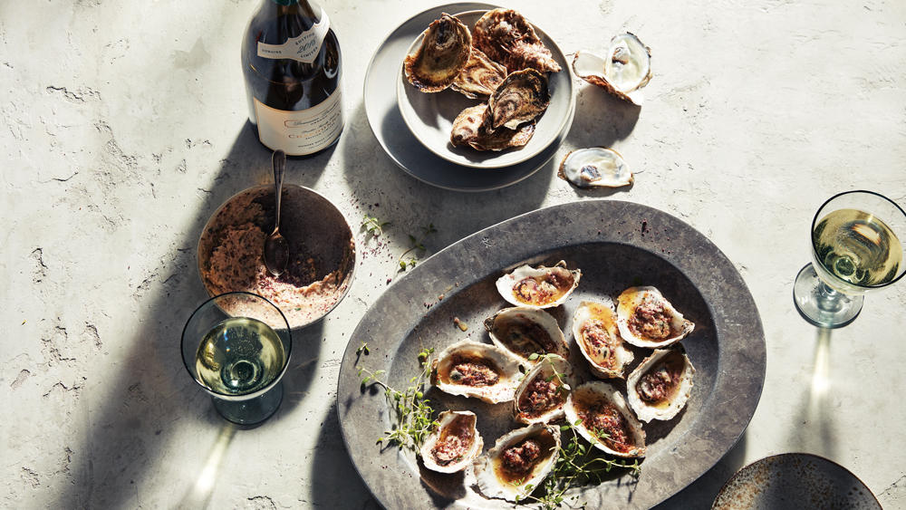 Grilled Oysters Renee Erickson
