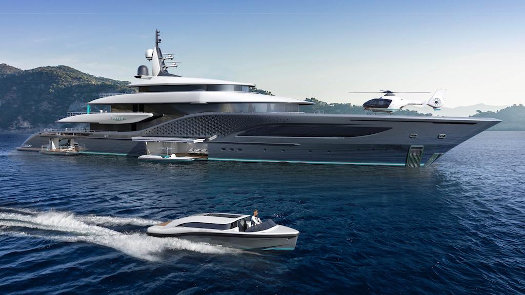 Turquoise Yachts 77m Quantum superyacht project Ken Freivokh superyacht