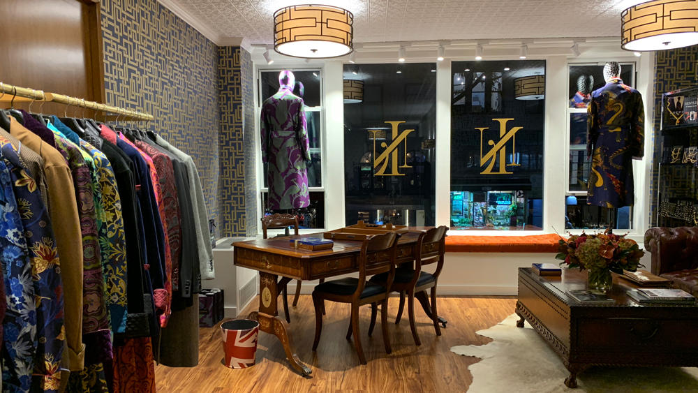 New & Lingwood Boutique Opening