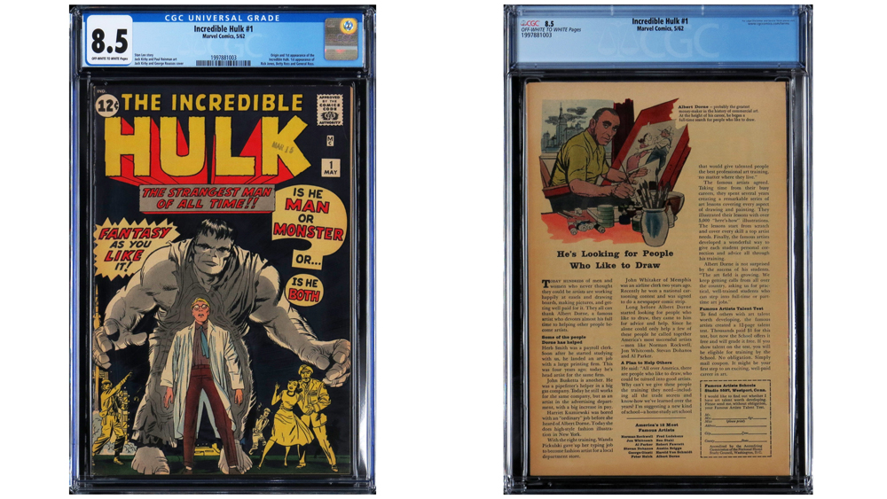 Incredible Hulk #1 comic