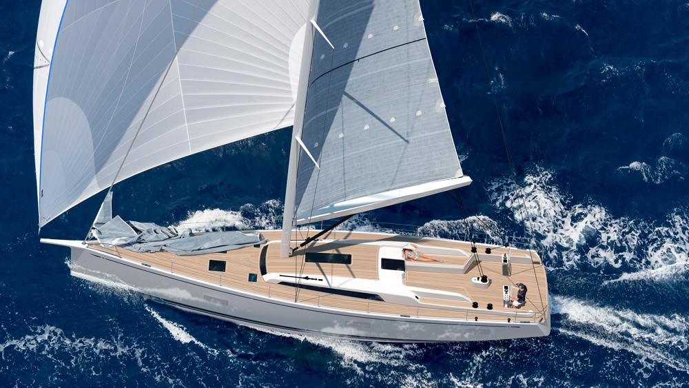Swan 65 boat