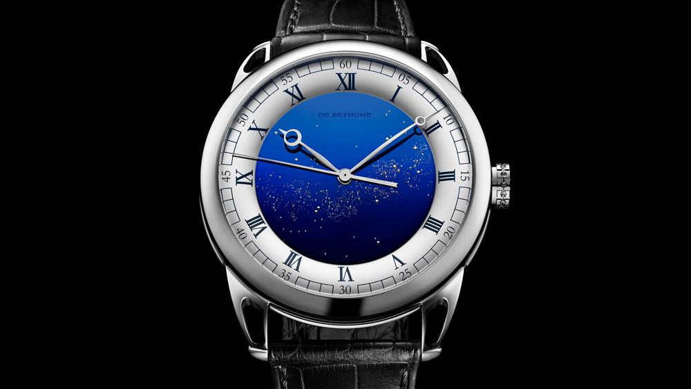 De BethuneDB25 Starry Varius Chronomètre Tourbillon