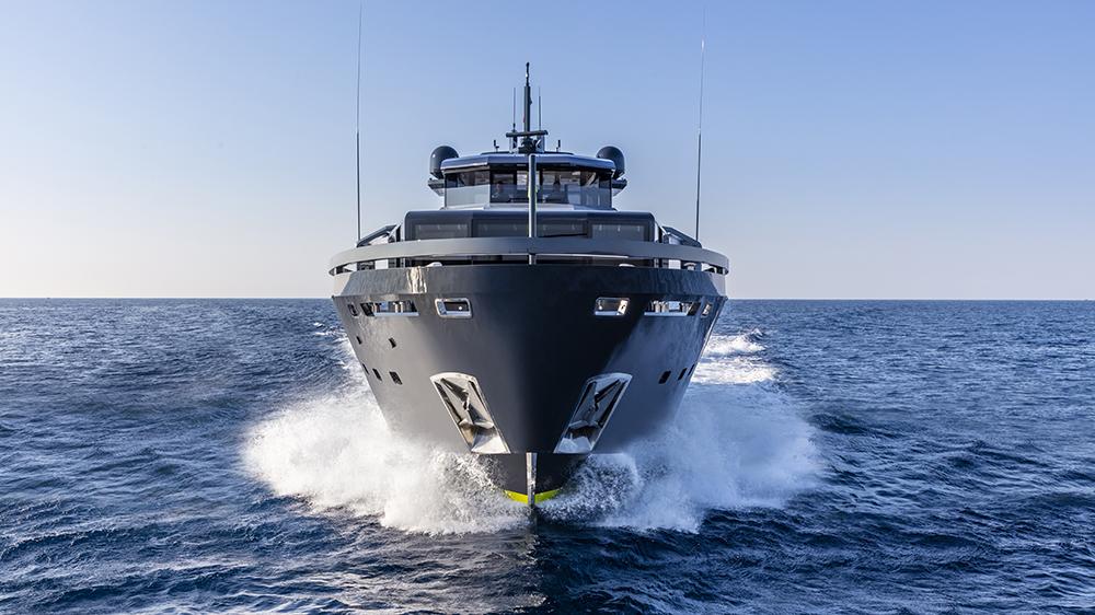 Arcadia 105 solar eco-friendly yacht