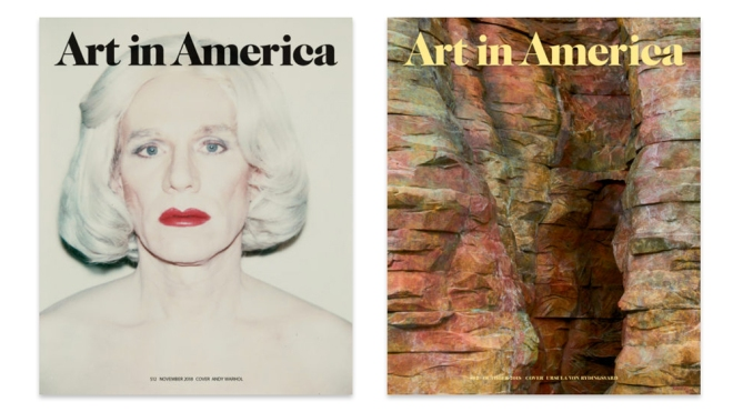 Art in America covers