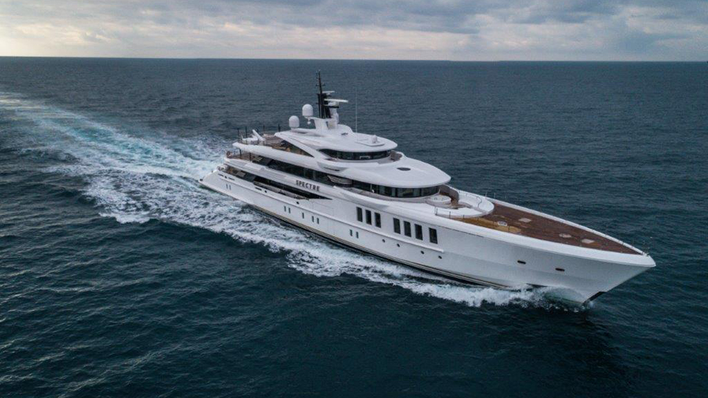 Robb Report's Best Motor Yacht 200 to 300 Feet 2019, the Benetti Spectre