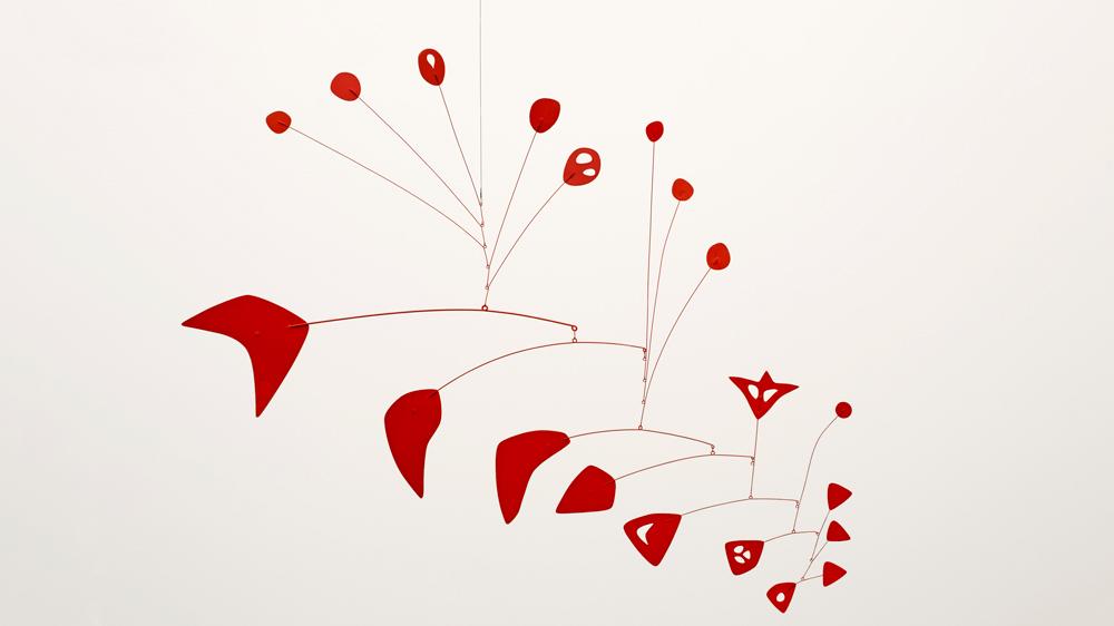 Alexander Calder Red Maze III