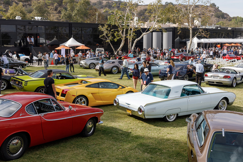 2018 ArtCenter Classic car show.