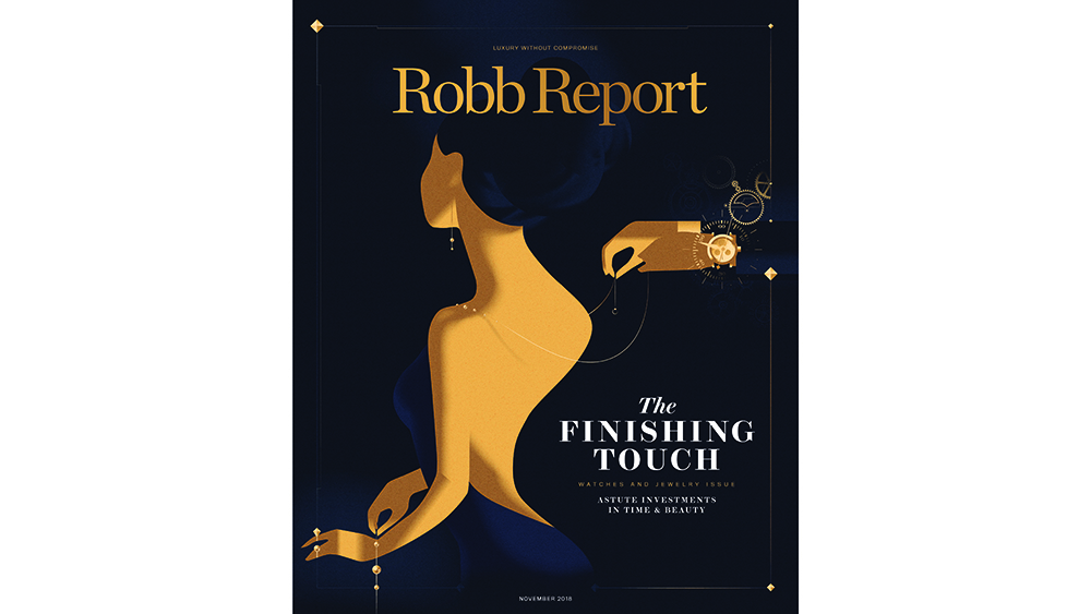 Cover of the November Robb Report