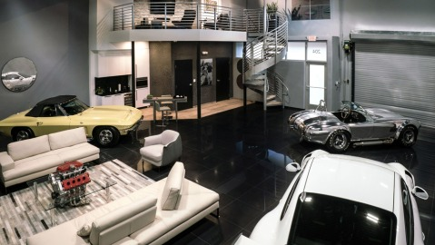 A CollectionSuites luxury storage space.