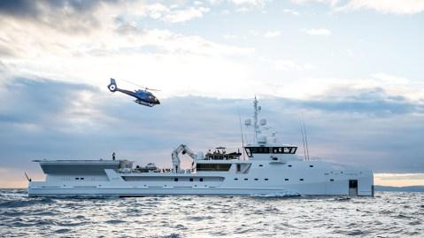 Damen Yacht Support Game Changer explorer yacht
