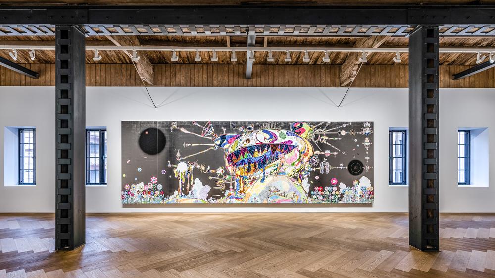 Takashi MuMurakami Shanghai Exhibition Viewrakami in Wonderland