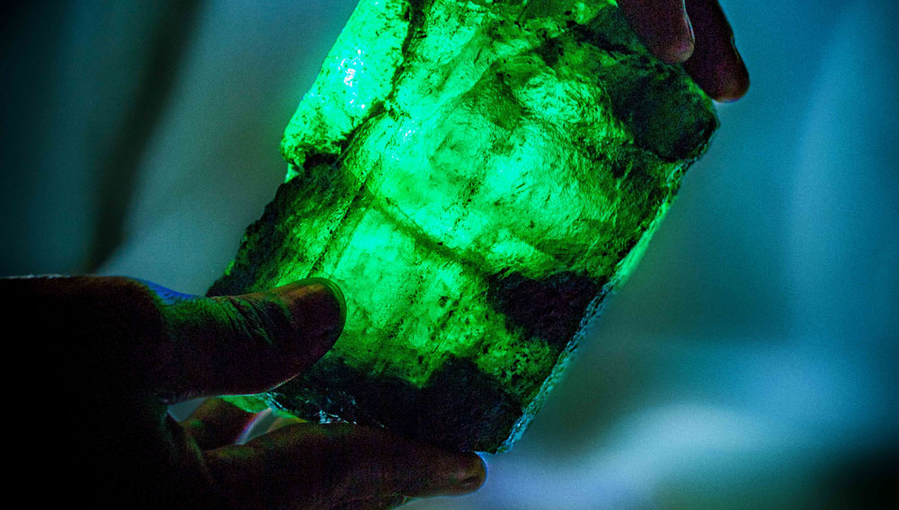 Emerald in Zambia