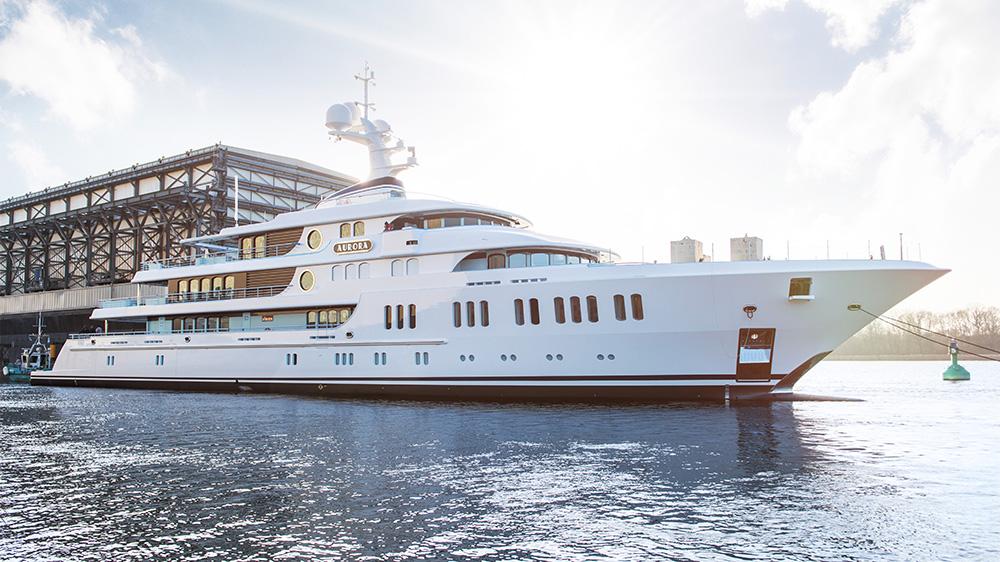 Klaus Jordan Lürssen Aurora Moran Yacht & Ship
