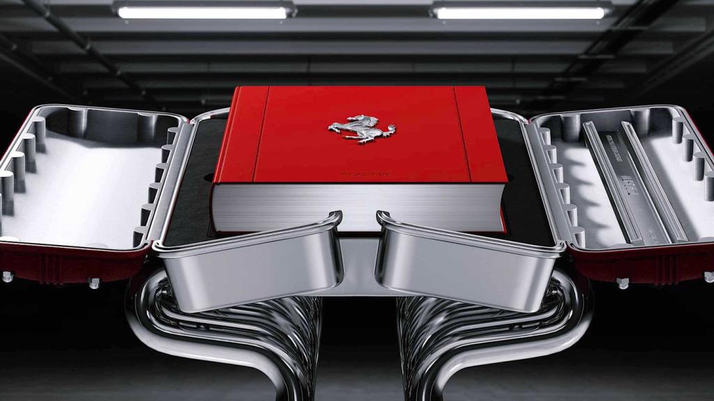 The Art Edition of Taschen's book Ferrari.