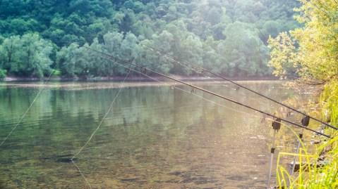 fishing adventures.- Fishing gear; Shutterstock ID 498684778; Notes: fishing