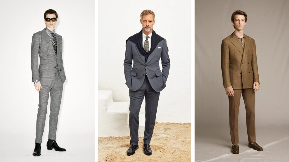 luxury menswear suits