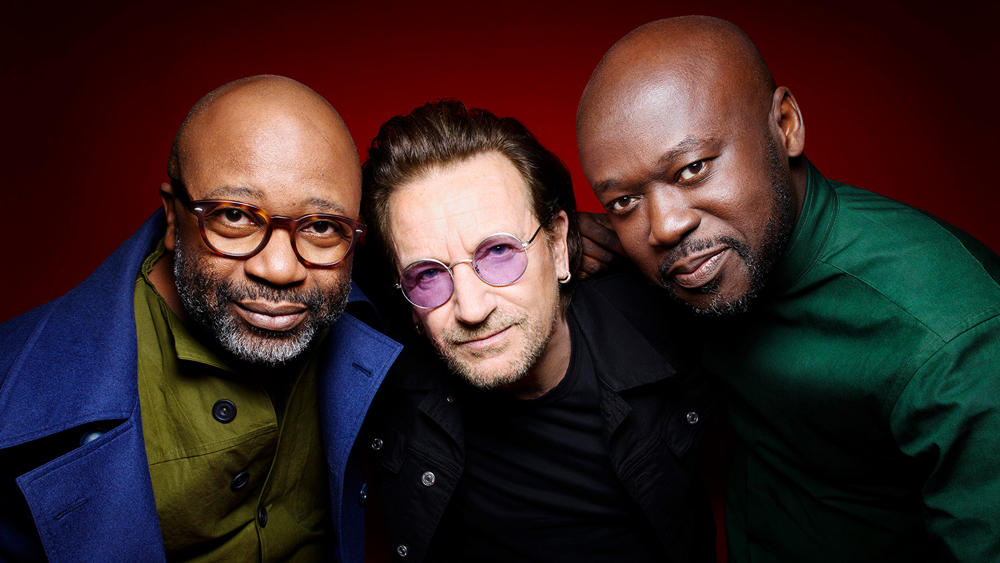 Theaster Gates, Bono, and Sir David Adjaye