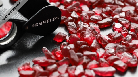 Gemfields Rubies from Mozambique
