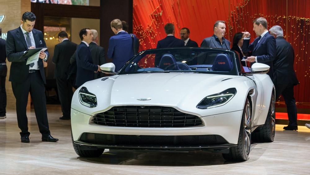 Aston Martin at the Geneva International Motor Show.