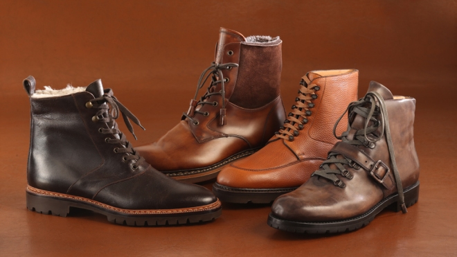 Lace-Up Boots for Fall