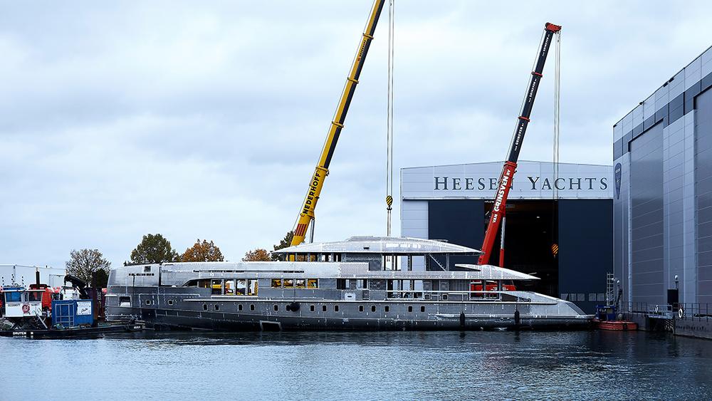 Heesen Project Electra superyacht