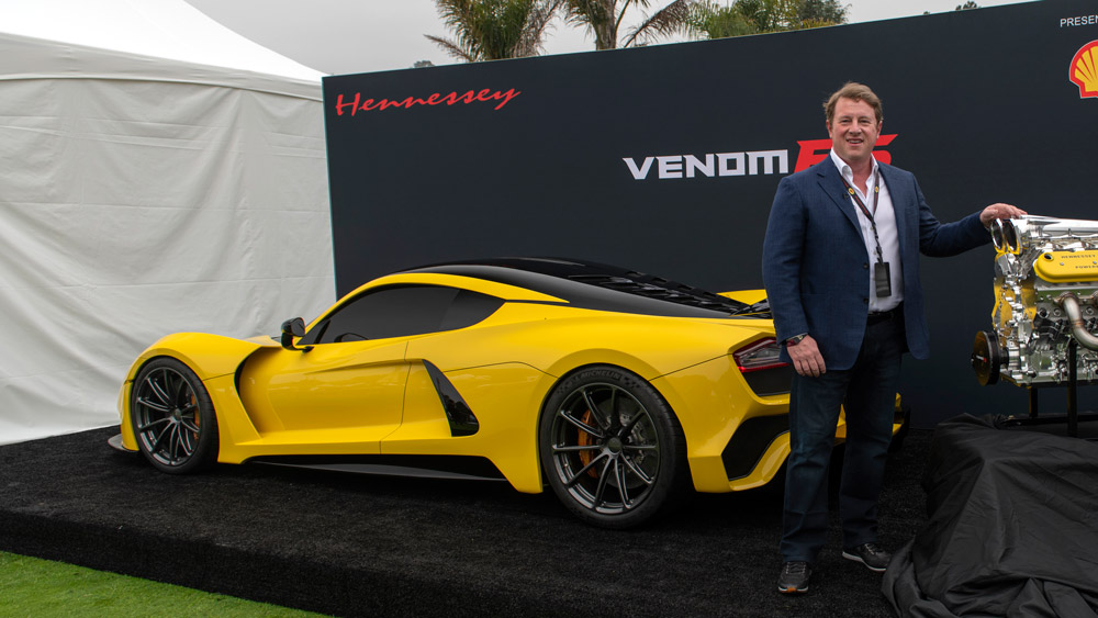 The Venom F5 from Hennessey Performance Engineering.