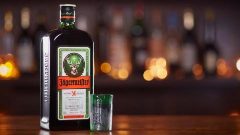 Jägermeister shot