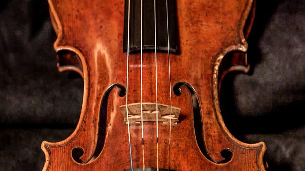 The Huberman Stradivarius from 1717