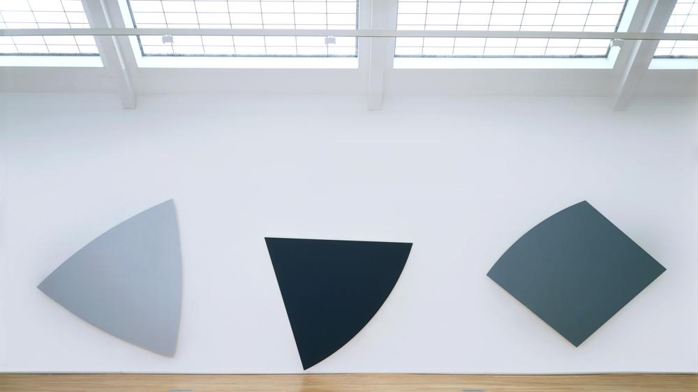 Ellsworth Kelly Three Gray Panels