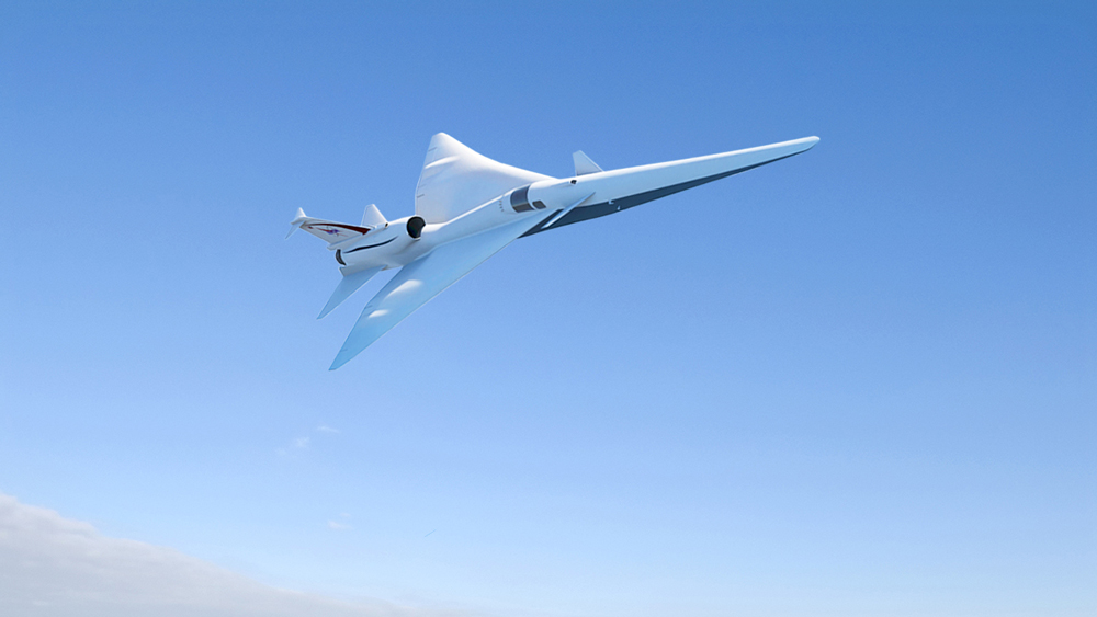 NASA low-boom supersonic tests