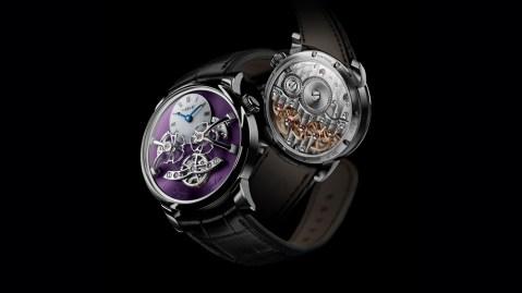 MB&F LM2 Purple watch
