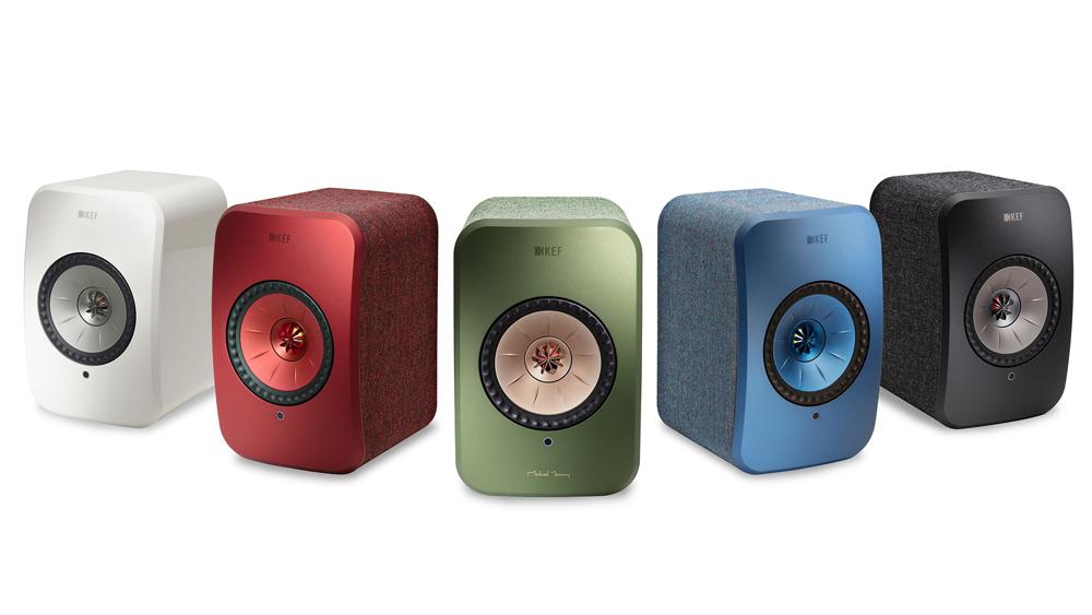 KEF LSX color range