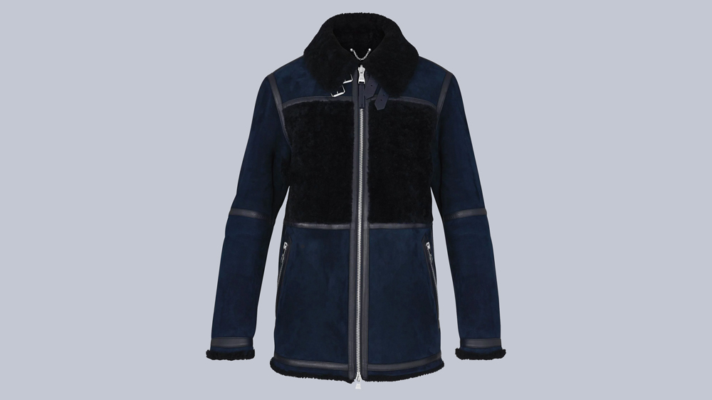 Louis Vuitton Shearling Aviator Parka
