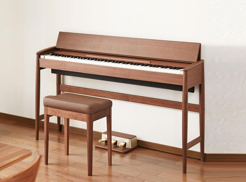 Kiyola walnut piano