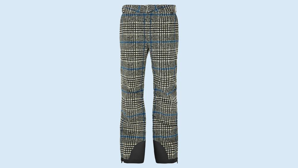 Moncler Houndstooth ski pants