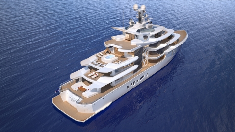 Nobiskrug's Eco-Friendly hybrid Superyacht Artefact.